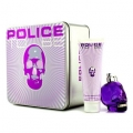 Police To Be Coffret: Eau De Parfum Spray 75ml/2.5oz + Body Lotion 100ml/3.4oz