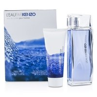 KenzoL'Eau Par Kenzo Coffret: Eau De Toilette Spray 100ml/3.4oz + Hair & Body Shampoo 75ml/2.5oz