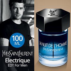 Ysl Edt Electrique 100ml Homme Eau Nuit La l3TJc1FK