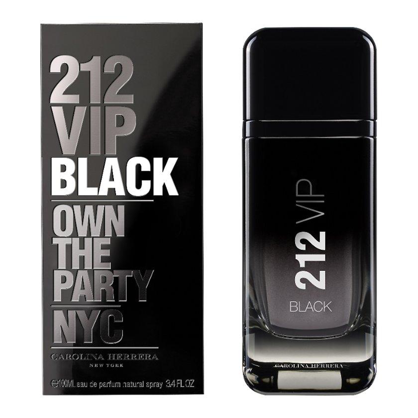 11fb8630f Carolina Herrera 212 VIP Black for Men EDT 100ml – https://www ...