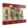 Starter Kit - Sandalwood: Pre Shave Oil + Shaving Cream + Brush + After Shave Balm