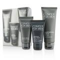 Custom-Fit Daily Hydration Set: Charcoal Face Wash 50ml/1.7oz + Cream Shave 60ml/2oz + Moisturizing Lotion 100ml/3.4oz