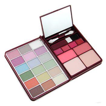 MakeUp Kit G0139 (18x Eyeshadow, 2x Blusher, 2x Pressed Powder, 4x Lipgloss) - 1