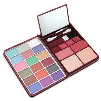 MakeUp Kit G0139 (18x Eyeshadow, 2x Blusher, 2x Pressed Powder, 4x Lipgloss) - 2