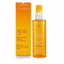 Sun Care Spray Oil-Free Lotion Progressive Tanning SPF 15 - For Outdoor Sports