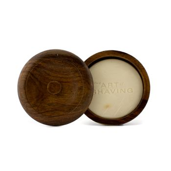Shaving Soap w/ Bowl - Sandalwood Essential Oil (For All Skin Types)