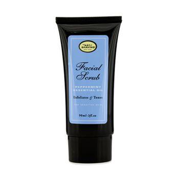 Facial Scrub - Peppermint Essential Oil (For Sensitive Skin)