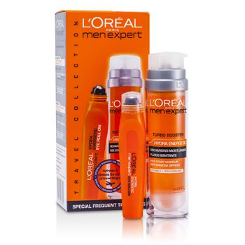 Men Expert Set: Hydra Energetic Turbo Booster + Ice Cool Eye Roll-On