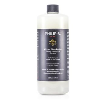African Shea Butter Gentle & Conditioning Shampoo (For All Hair Types, Normal to Color-Treated)