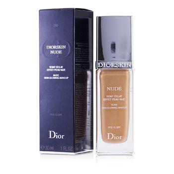 Diorskin Nude Skin Glowing Makeup SPF 15 - # 040 Honey Beige