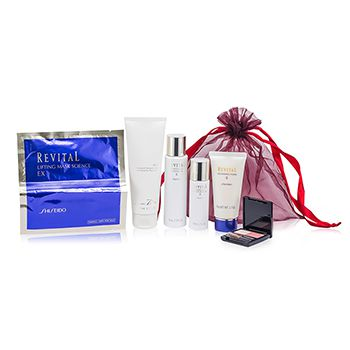 Revital Set: Perfumed Shower Gel + Whitening Moisturizer EX II + Cleansing Foam II + Whitening Moisturizer EX II + Lifting Mask Science EX + Maquillage