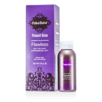 Flawless Self-Tan Liquid & Professional Mitt (Travel Size)