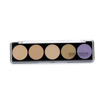 5 Camouflage Cream Palette - #2 (Asian Complexions)
