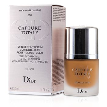 Capture Totale Triple Correcting Serum Foundation SPF25 - # 030 Medium Beige