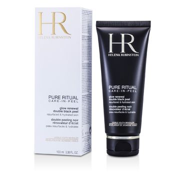 Pure Ritual Glow Renewal Double Black Peel