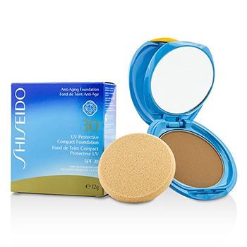UV Protective Compact Foundation SPF 30 (Case+Refill) - # Dark Beige