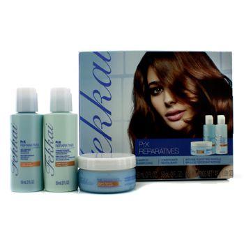 PrX ReparaPrX Reparatives Mini Collection: Shampoo 59ml + Conditioner 59ml + Intense Fortifying Masque 48g
