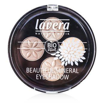 Beautiful Mineral Eyeshadow Quattro - # 02 Cappuccino Cream