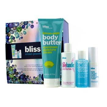 Crown Jewels Set: Body Butter 200ml + Love Handler 118ml + Triple Oxygen Instant Energizing Mask 15ml + Face Wash 60ml