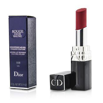 Rouge Dior Baume Natural Lip Treatment Couture Colour - # 558 Lili
