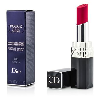 Rouge Dior Baume Natural Lip Treatment Couture Colour - # 688 Diorette