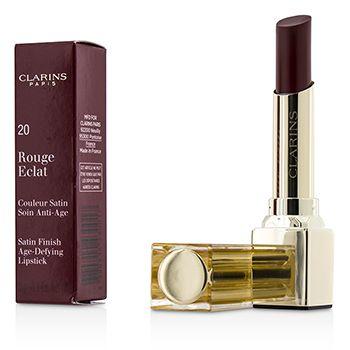 Rouge Eclat Satin Finish Age Defying Lipstick - # 20 Red Fuchsia