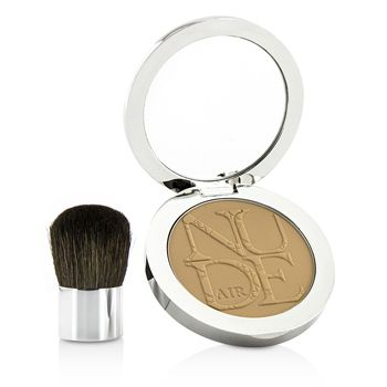 Diorskin Nude Air Healthy Glow Invisible Powder (With Kabuki Brush) - # 030 Medium Beige