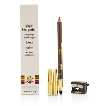 Phyto Khol Perfect Eyeliner (With Blender and Sharpener) - #Plum