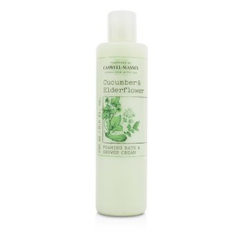Cucumber & Elderflower Foaming Bath & Shower Cream