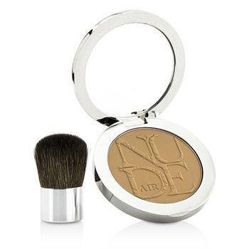 Diorskin Nude Air Healthy Glow Invisible Powder (With Kabuki Brush) - # 040 Honey Beige