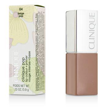 Clinique Pop Lip Colour + Primer - # 04 Beige Pop