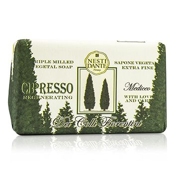Dei Colli Fiorentini Triple Milled Vegetal Soap - Cypress Tree