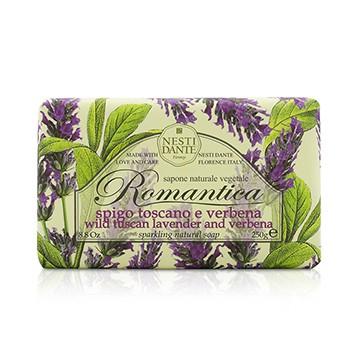 Romantica Sparkling Natural Soap - Wild Tuscan Lavender & Verbena