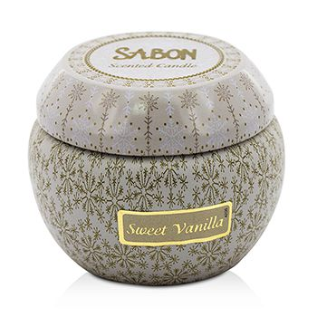Tin Scented Candle (Small) - Sweet Vanilla