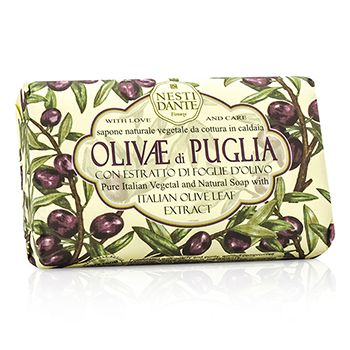 Natural Soap With Italian Olive Leaf Extract  - Olivae Di Puglia