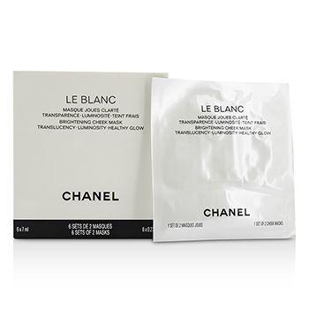Le Blanc Brightening Cheek Mask