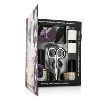 Feathered Manicure Set - All A Flutter