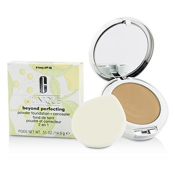 Beyond Perfecting Powder Foundation + Corrector - # 06 Ivory (VF-N)