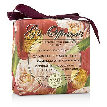 Gli Officinali Soap - Camellia & Cinnamon - Purifying & Sweetening