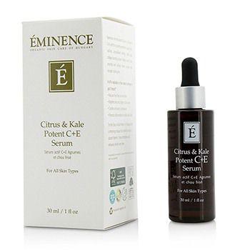 Citrus & Kale Potent C+E Serum - For All Skin Types
