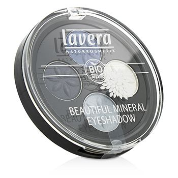 Beautiful Mineral Eyeshadow Quattro - # 07 Blue Platinum