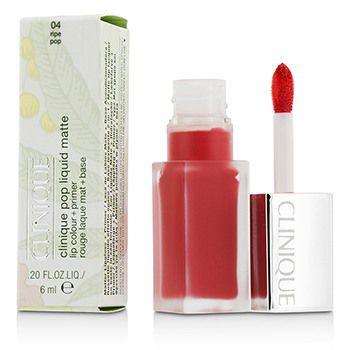 Pop Liquid Matte Lip Colour + Primer - # 04 Ripe Pop