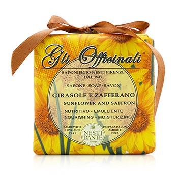 Gli Officinali Soap - Sunflower & Zafferano - Nourishing & Moisturizing