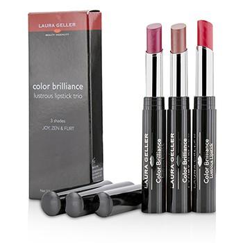 Color Brilliance Lustrous Lipstick Trio