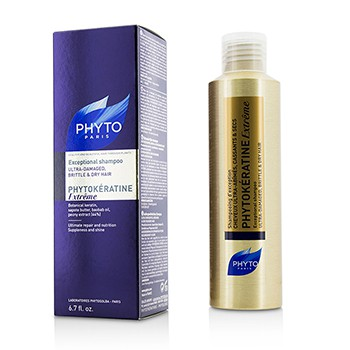 Phytokeratine Extreme Exceptional Shampoo (Ultra-Damaged, Brittle & Dry Hair)