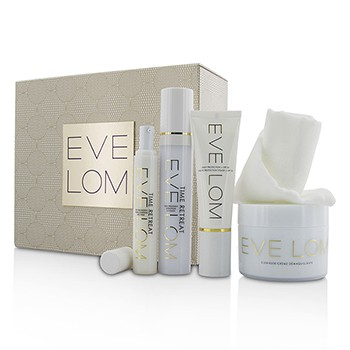 Restorative Ritual Set: Cleanser 200ml+Face Treatment 50ml+Eye Treatment 15ml+Daily Protection SPF 50 50ml+Muslin Cloth