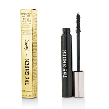 The Shock Volumizing Mascara - # 01 Asphalt Black