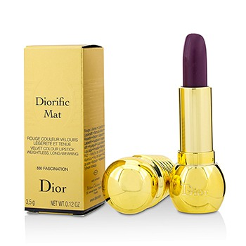 Diorific Mat Velvet Colour Lipstick - # 880 Fascination