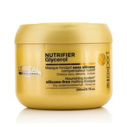 Professionnel Expert Serie - Nutrifier Glycerol Silicone-Free Melting Masque - Rinse Out (For Dry, Undernourished Hair)
