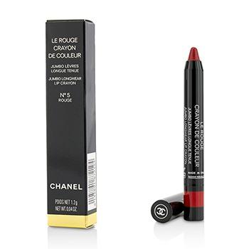 Le Rouge Crayon De Couleur Jumbo Longwear Lip Crayon - # 5 Rouge